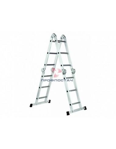 Лестница шарнирная (трансформер) 4х4...
