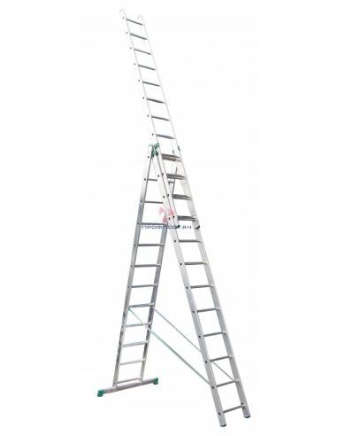 Лестница универсальная 3х секционная...