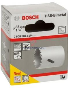 Коронка HSS-BiMetal 35 мм...