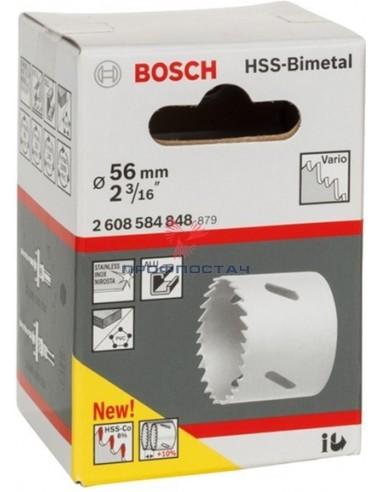 Коронка HSS-BiMetal 56 мм...