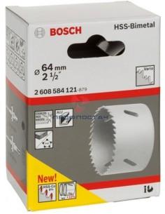 Коронка HSS-BiMetal 64 мм...