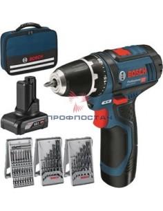 Шуруповерт аккумуляторный GSR12V-15//Bosch