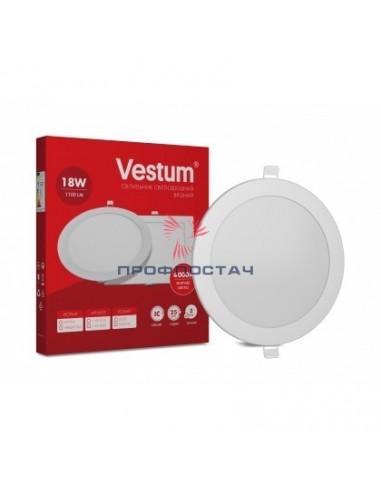 Светильник LED врізний круглий Vestum...