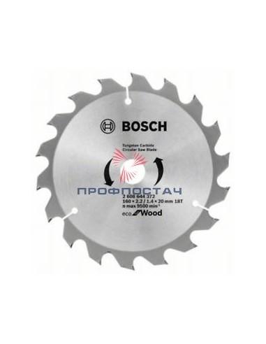 Диск пильний 160х20/16-18Т ECO WO//Bosch