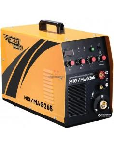 Сварочный полуавтомат 2в1 MIG-265, 220В, 6,5 кВт,//Kaisser