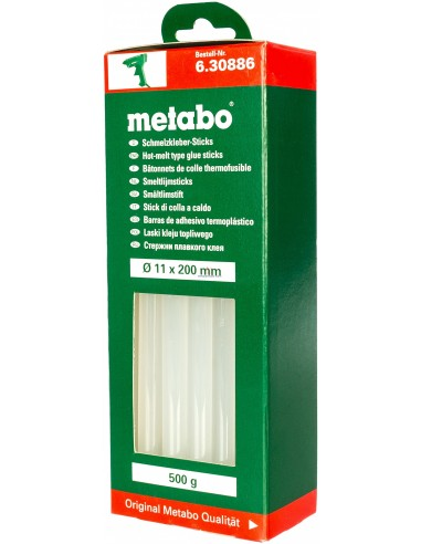 Клей термо 500г прозрачный//Metabo