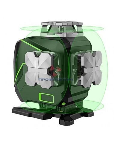 Лазерный уровень профессиональный 4D,...